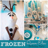 Disney Frozen Queen Elsa Birthday Party