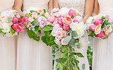 You'll Love the Cascading, Oversize Blooms in This Dallas Garden Wedding