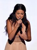 Selena Gomez's heartbreak performance at the American Music Awards