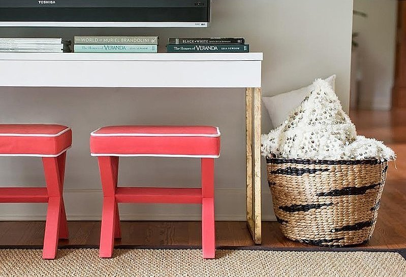 3 Stylish Media Consoles You Can DIY