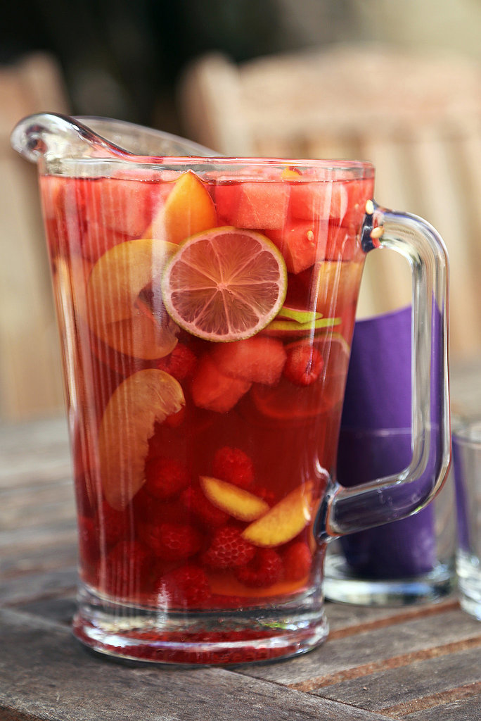 Watermelon Sangria - Tasty fun recipes