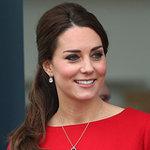 Pregnant Kate Middleton in Norwich in Nov. 2014 | Photos