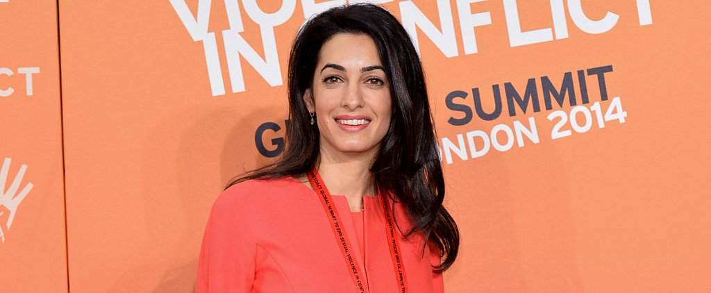 Amal Alamuddin's Airport Style Is Flawless