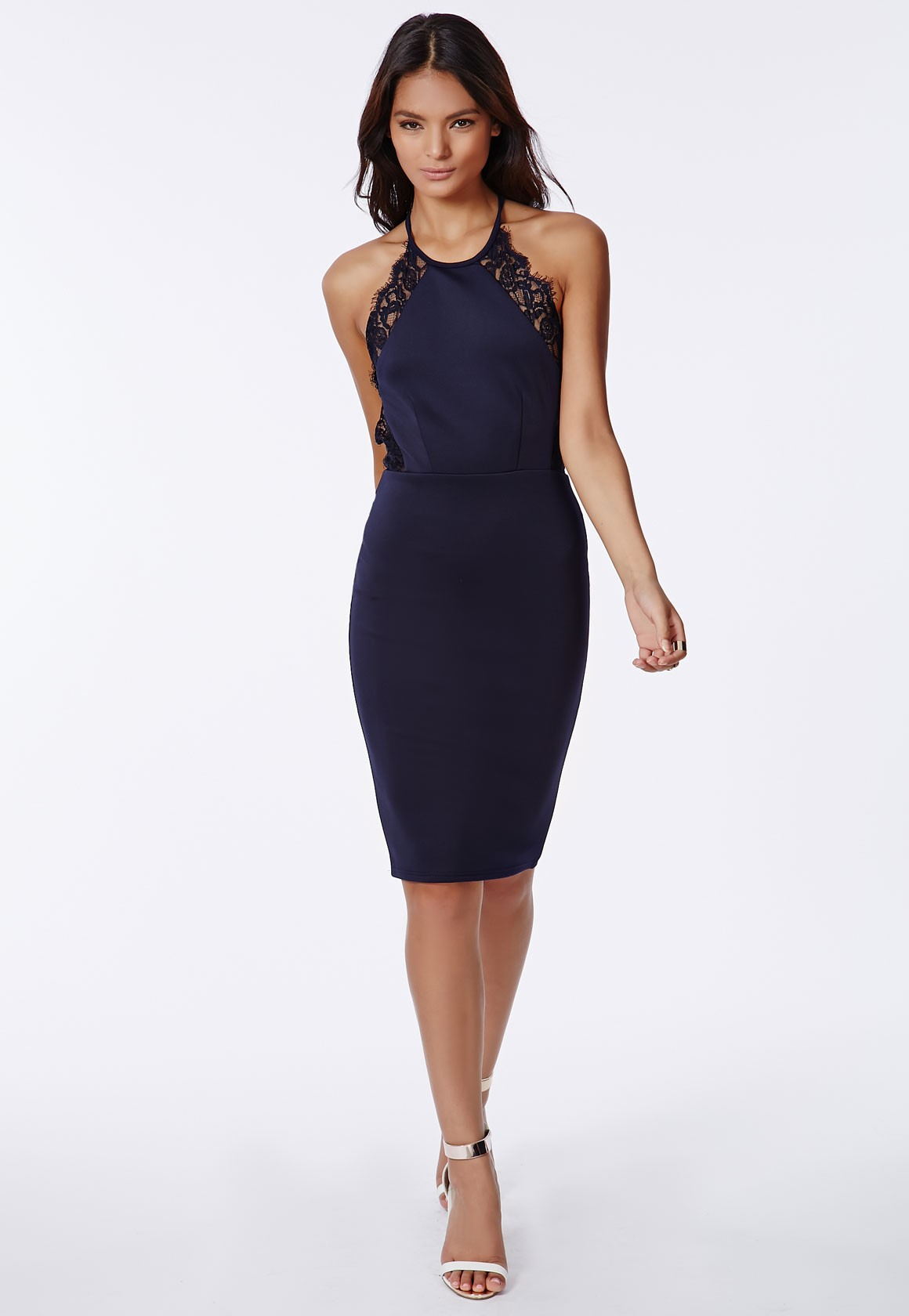 Missguided Halter Dress