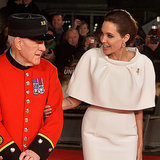 Angelina Jolie bei der Premiere von Unbroken in London