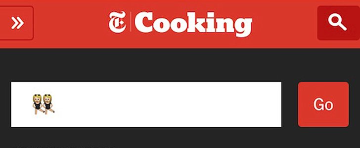 You Can Now Use Emoji to Search the New York Times's Food Section