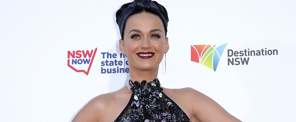 Katy Perry Makes the Case For Purple Lips, Eyes and Hair