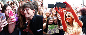 The ARIA Awards Red Carpet Was Basically Selfie Central