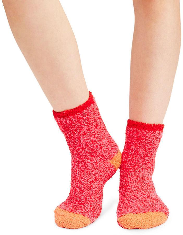 Wet Seal Cozy Marled Crew Socks