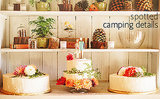 Spice Up Your Outdoor Wedding With Quirky Camping Details
