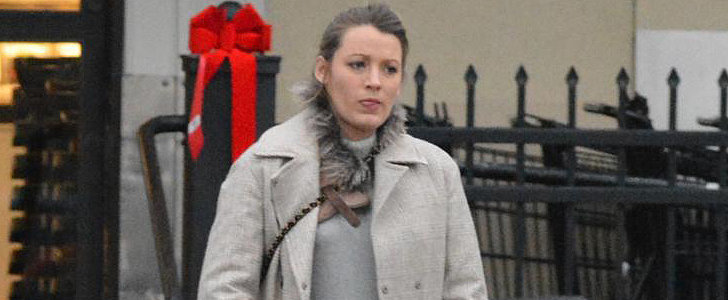 Blake Lively Takes Her Growing Baby Bump Holiday Shopping