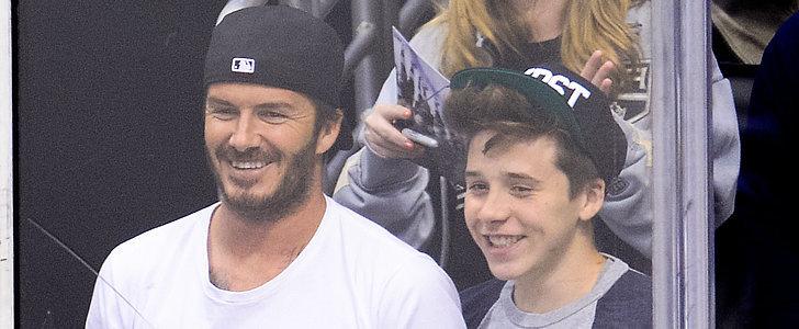 "David and Brooklyn Beckham Were ""Shaken"" by Their Car Crash"