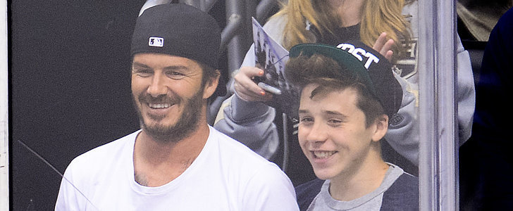"David and Brooklyn Beckham Were ""Shaken"" by Their Car Crash"