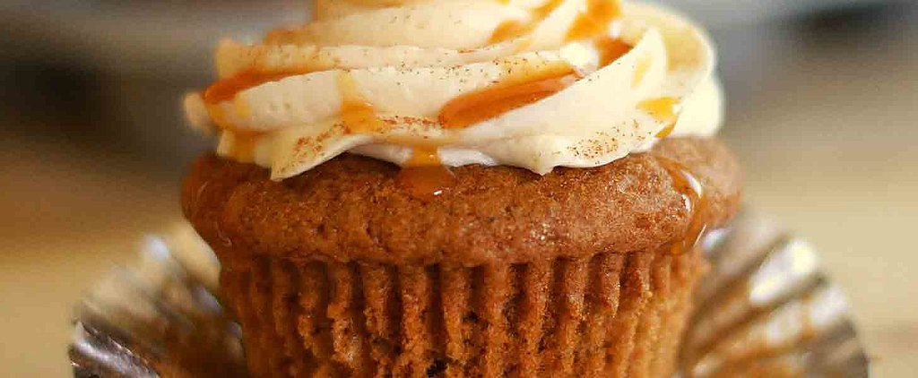 Cinnamon-Caramel Pumpkin Cupcakes Will Put a Smile on Your Face