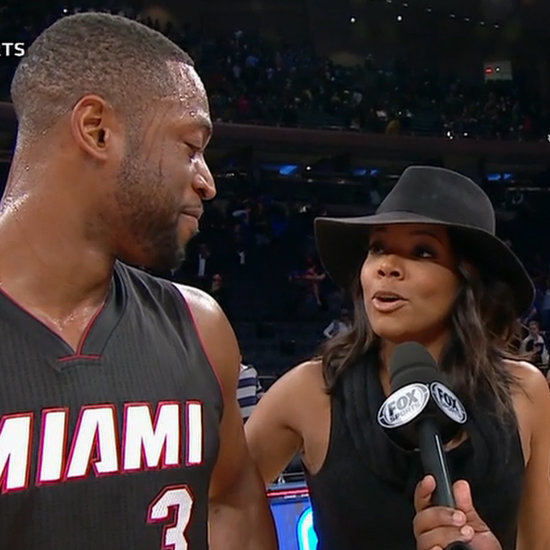 Gabrielle Union Videobombing Dwyane Wade | Video