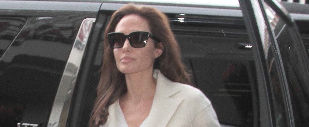 Angelina Jolie Keeps It Classy After LA Car Accident