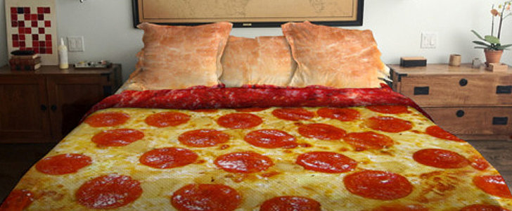 That Viral Pizza Bedding Can Now Be Yours Via Kickstarter