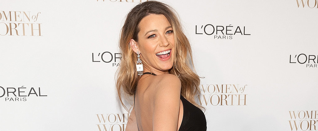 Blake Lively and Her Bump Go Glam For a Night Out