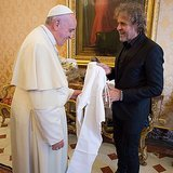 Diesel Gave the Pope Some Jeans For Christmas