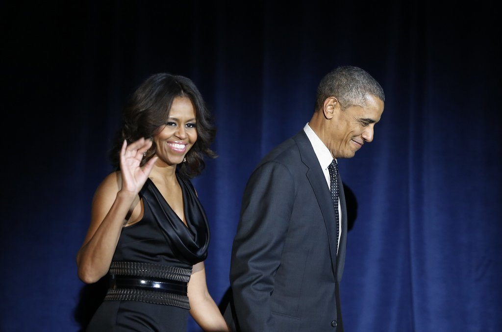 The couple made a stylish arrival for the In Performance at the White House event in November.