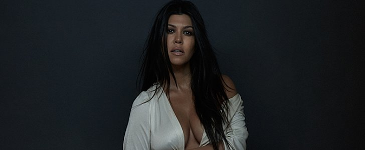 Kourtney Kardashian Follows in Kim's Footsteps With Her Own Nude Photo Shoot
