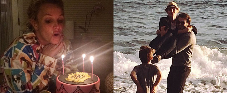 Britney Spears Had a Cozy B-Day Celebration With Her New Man