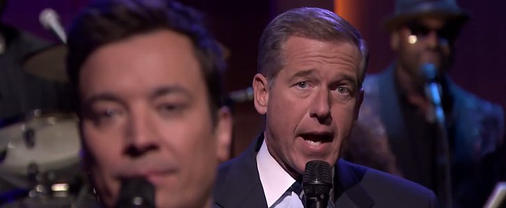 This Is Not How We Expected Brian Williams to Read the News