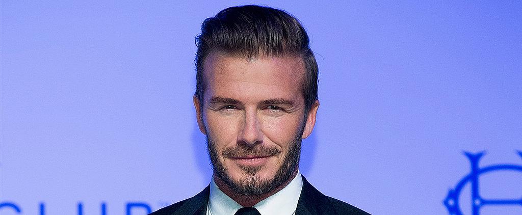 David Beckham Has Inked a New Fashion Deal