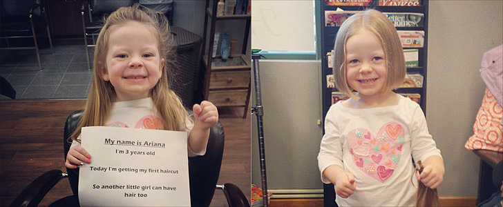 "Girl Chops Off Locks ""So Another Little Girl Can Have Hair Too"""