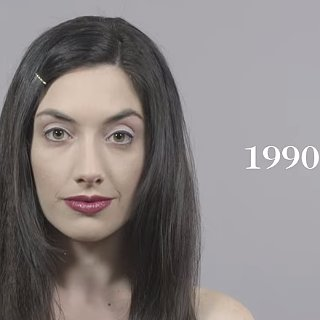 This Video Showing Beauty Trends of the Past 100 Years Is Mesmerising