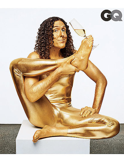 'Weird Al' Yankovic Celebrates His Success with a Gold Lamé Bodysuit