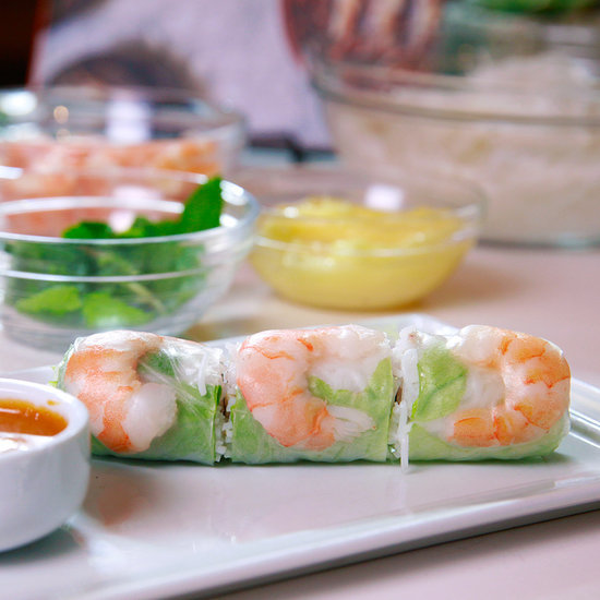 Classic Pork and Shrimp Spring Rolls