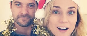 Diane Kruger and Joshua Jackson Take the Perfect Holiday Selfie