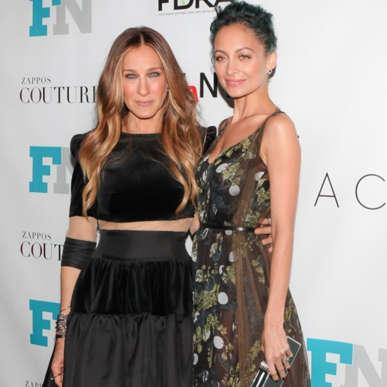 Nicole Richie and SJP Had a Very Fashionable Time at the Footwear News Achievement Awards