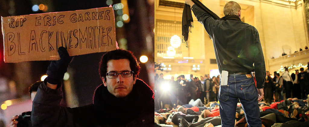 Hundreds of Protesters Gathered in NYC After the Eric Garner Decision
