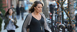 Pregnant Blake Lively Gets a Little Help From Her Main Man