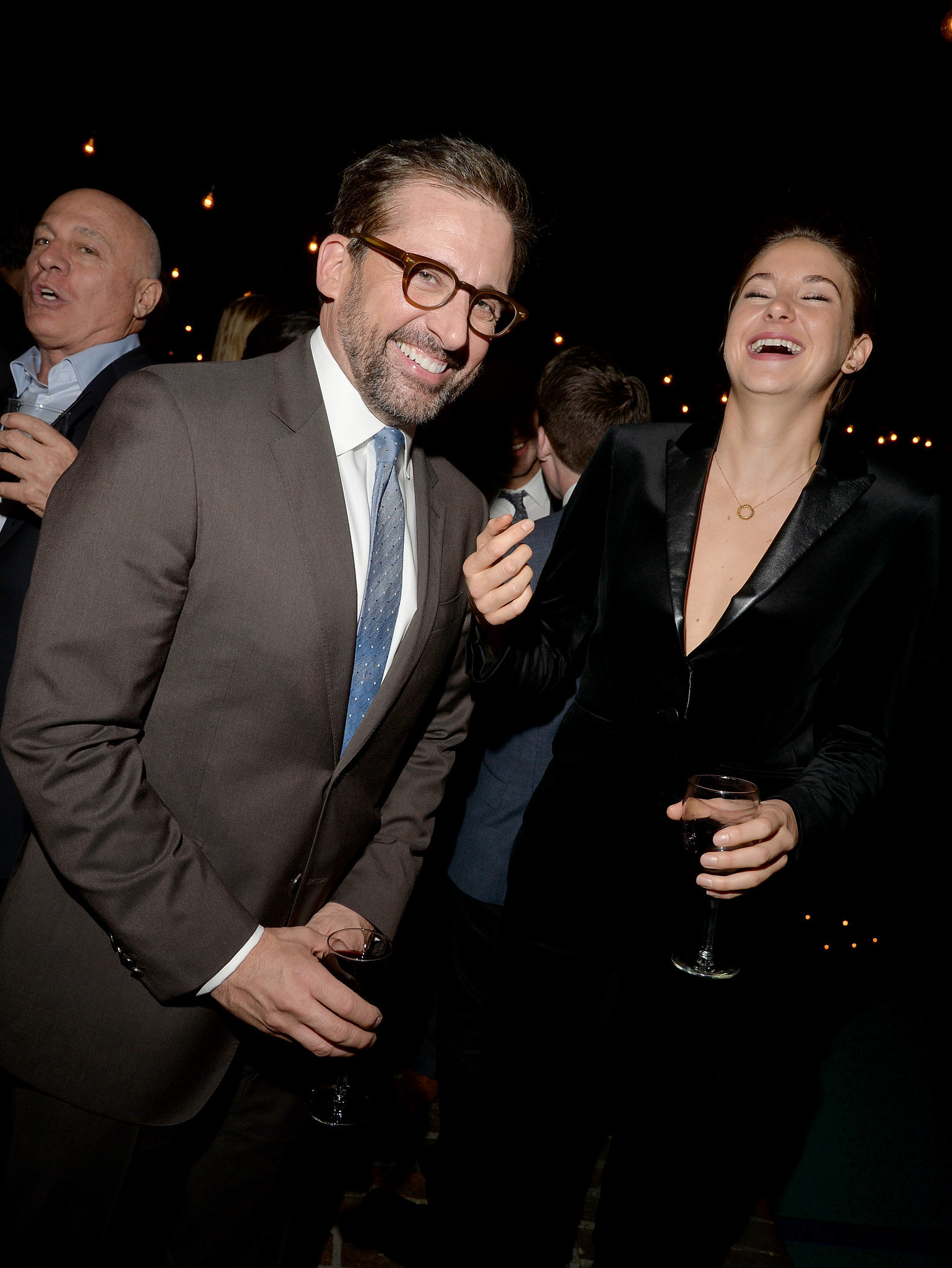 Photo of Steve Carell & his friend  Shailene Woodley