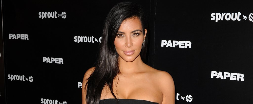 Kim Kardashian Shares an Adorable Picture of North West