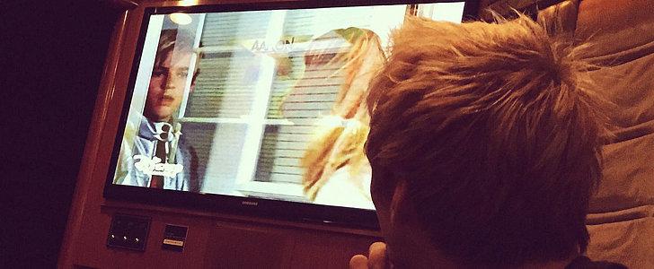 """Aaron Carter Sends """"Lizzie McGuire"""" Holiday Love"""