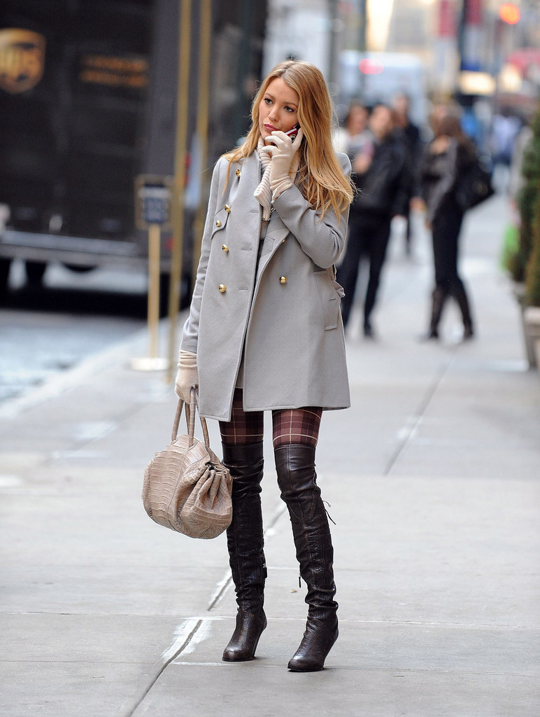 Blake Lively Serena Van Der Woodsen Style In Gossip Girl ...