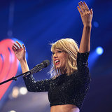 Taylor Swift Shakes Off Those Kissing Rumours at the Jingle Ball Concert