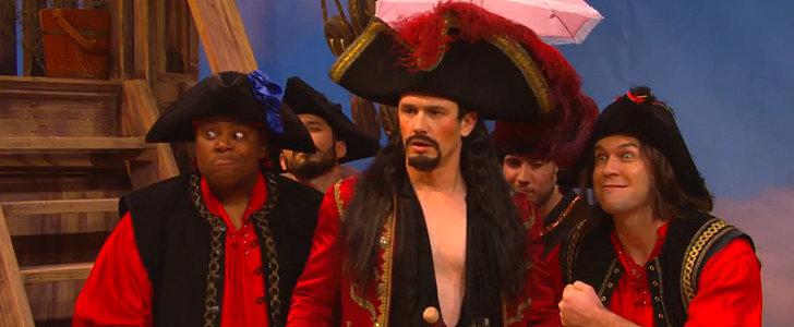 James Franco Hilariously Roasts Christopher Walken's Captain Hook Performance