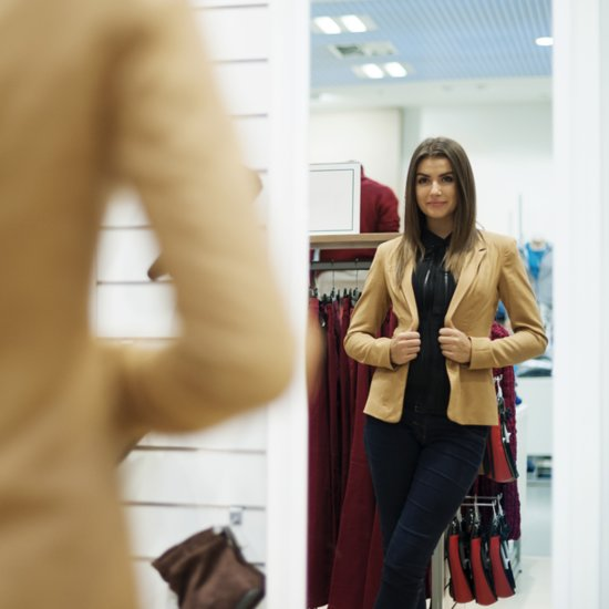 Interactive Mirrors in Dressing Rooms