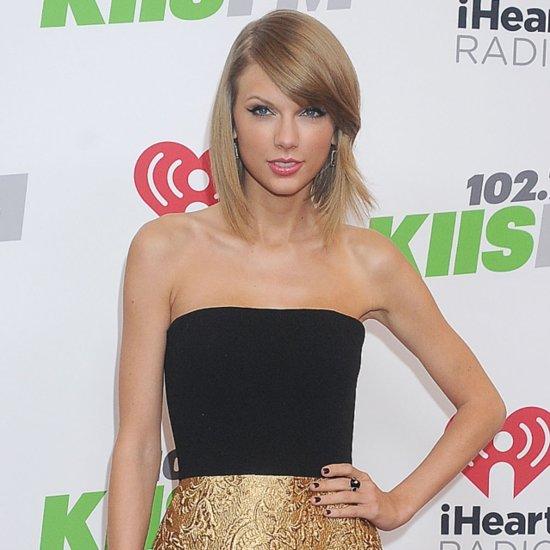 Taylor Swift Dresses and Style at 2014 KIIS FM Jingle Ball