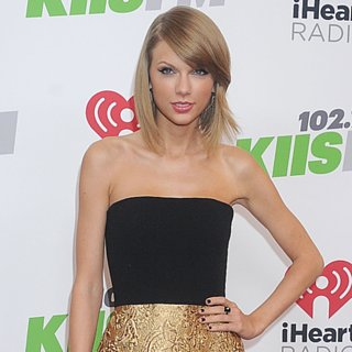 Taylor Swift Dresses and Style at 2014 KIIS FM Jingle Ball