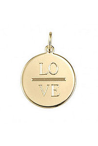 Signature Engravable Disc Charm
