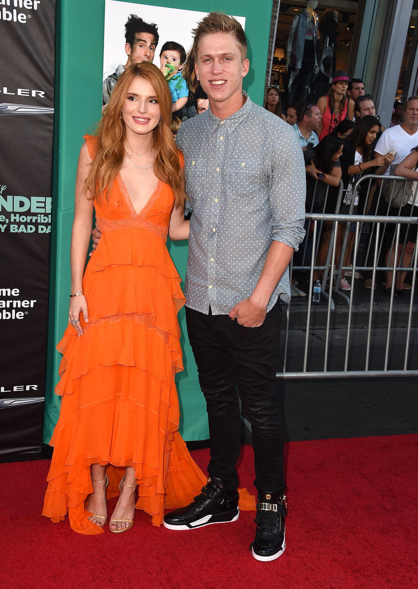 Bella Thorne And Tristan Klier Prom Bella Thorne and Trist...
