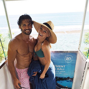 Bachelor Stars Tim Robards and Blake Garvey Holiday in Bali