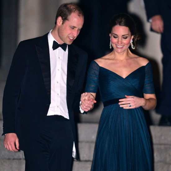 Kate Middleton and Prince William at St. Andrews Dinner NYC