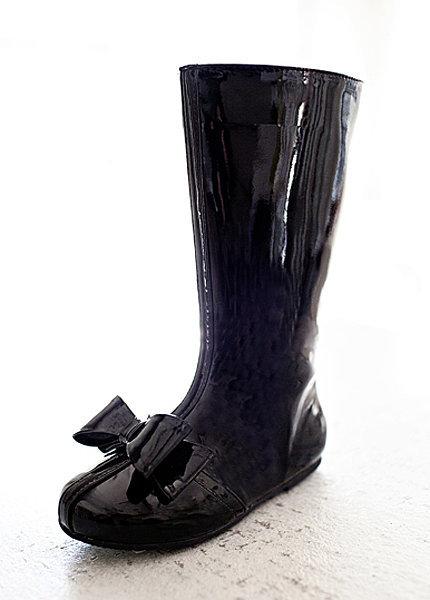 Joyfolie Elery Boot in Black Patent